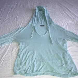 Athleta light blue sweatshirt size small